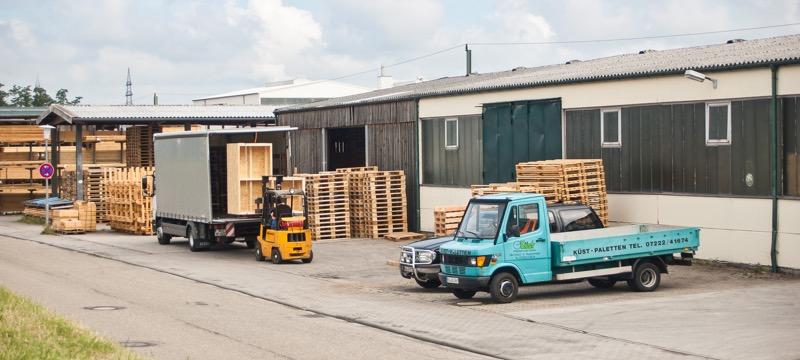 Transportlösungen in Rheinau